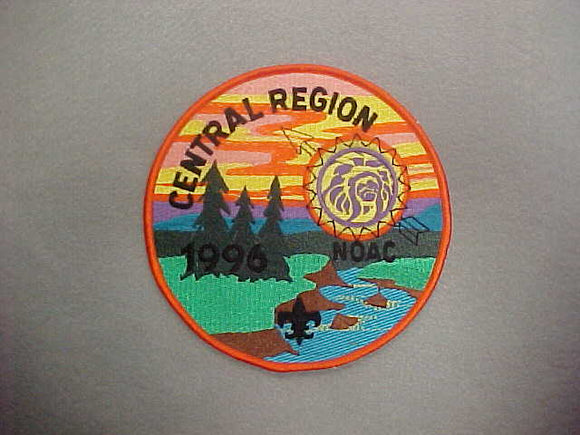 1996 NOAC CENTRAL REGION JACKET PATCH