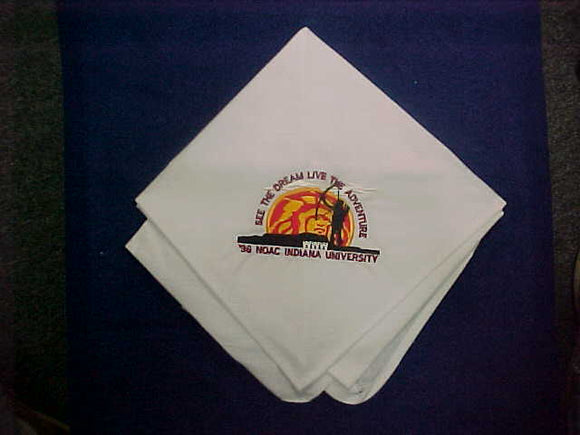 1996 NOAC NECKERCHIEF, EMBROIDERED