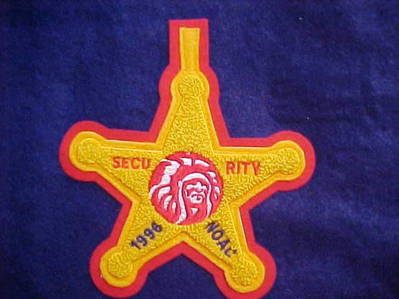 1996 NOAC POCKET PATCH (6.25 X 5.5