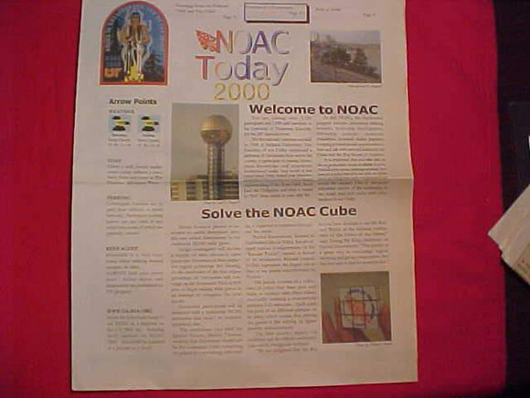 2000 NOAC NEWSPAPERS,