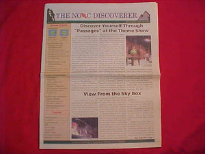 "2002 NOAC NEWSPAPER, ""THE NOAC DISCOVERER"", 7/31/02"