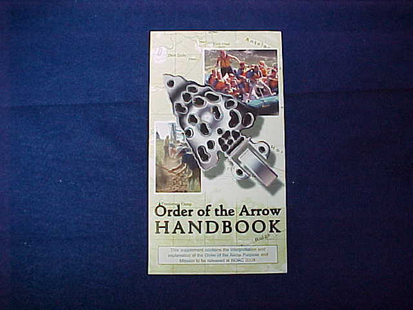 2009 NOAC OA HANDBOOK SUPPLEMENT BROCHURE