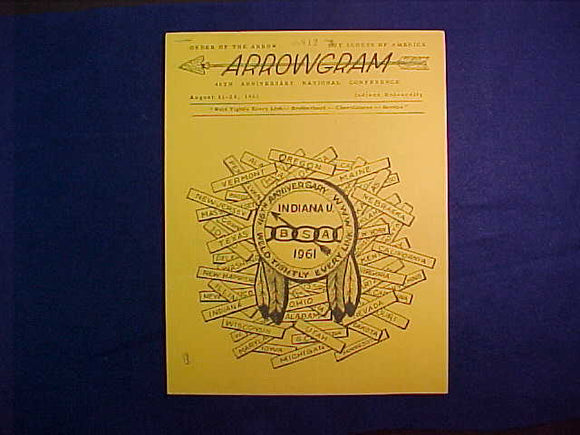 1961 NOAC ARROWGRAM JUN 12, 1961