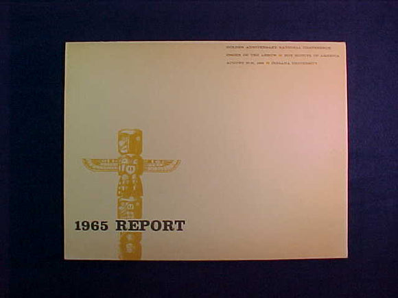 1965 NOAC CONFERENCE REPORT