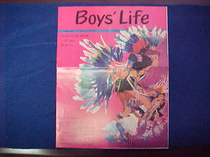 1965 NOAC BOYS' LIFE 6/1965 SPECIAL ISSUE, 4 PAGES