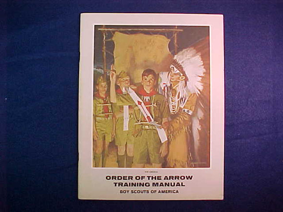 1969 NOAC TRAINING MANUAL, 60 PAGES, 6/1970 PRINTING