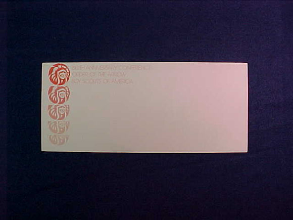 1975 NOAC ENVELOPE, BUSINESS SIZE