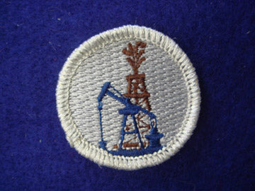Oil Production spoof merit badge