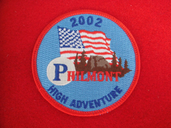Philmont 2002 High Adventure