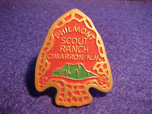 PHILMONT N/C SLIDE, ARROWHEAD, GREEN MTNS., RED BDGR.