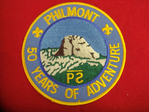 Philmont 50 yrs. Of Adventure Medium Blue Twill