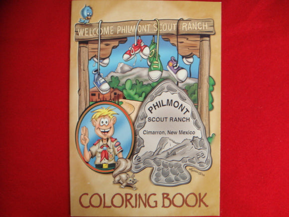Philmont Coloring Book 24 Pages