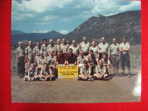 Madison, Wisconsin Philmont Contingent Four Lakes Council 2003