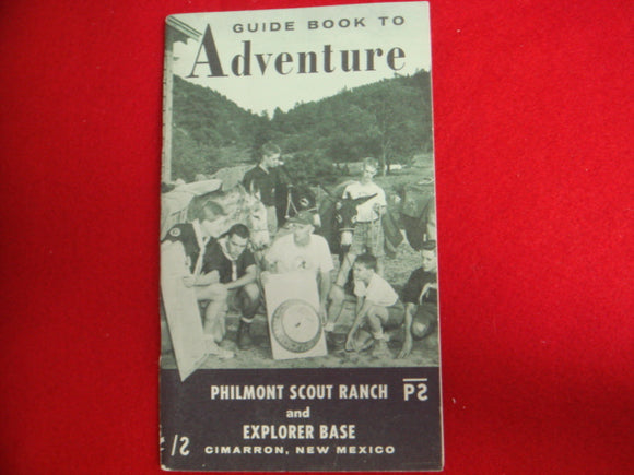Guide To Adventure Booklet 1966