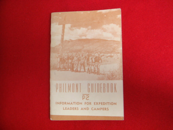 Philmont Guidebook, 1965, near mint