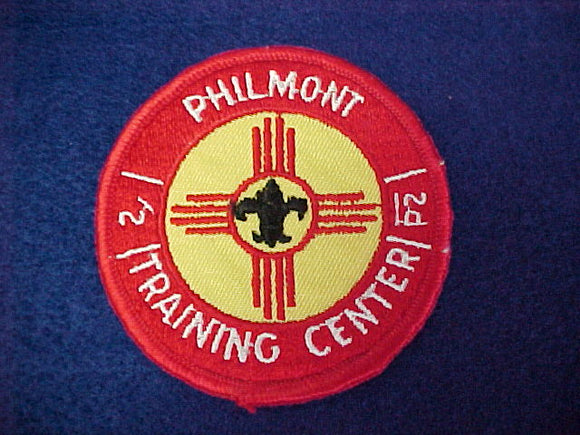 Philmont Training Center, Cloth Back