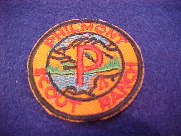 philmont 1950's round p patch
