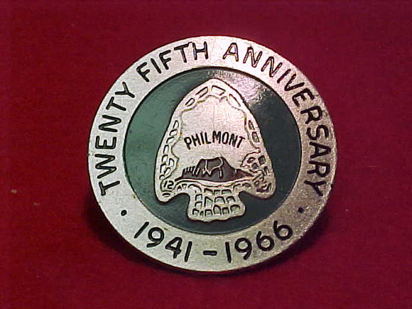 philmont, 1941-1966 slide, metal