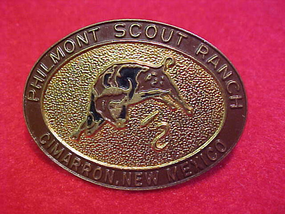 philmont, oval 1960's-70's slide, metal