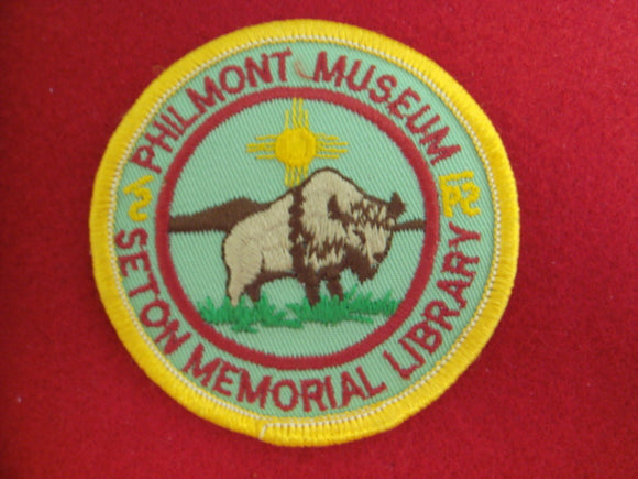 Philmont Museum/ Seton Library 3 Patch