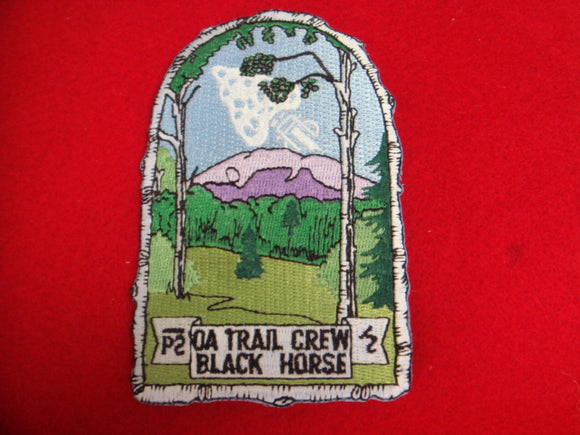 Philmont OA Trail Crew Black Horse
