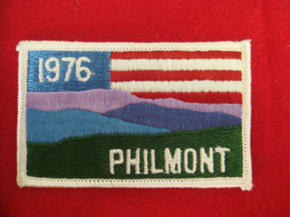 Philmont 1976 Patch