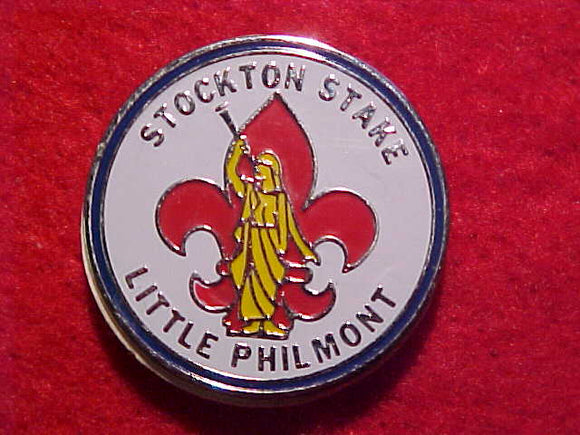 LITTLE PHILMONT STOCKTON STAKE PIN