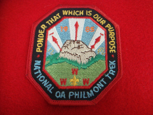 Philmont National OA Trek 1985 Patch