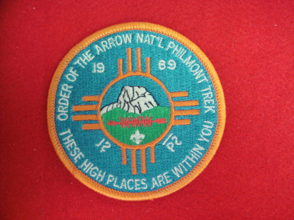Philmont 1989 OA Trek