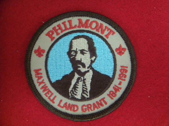 Philmont Maxwell Land Grant 1841-1991 Patch