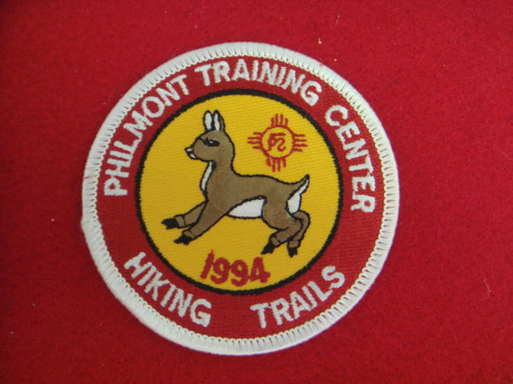 Philmont 1994 Training Center Hiking Trails