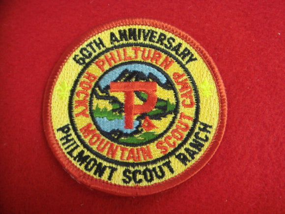 Philmont 1998 60th Annniversary, Red Bdr.