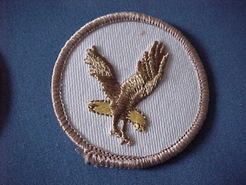 FLYING EAGLE, MULTICOLOR, TAN BORDER, TAN EAGLE, YELLOW TAIL