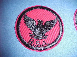 FLYING EAGLE, TWILL, CLEAR PLASTIC BACK