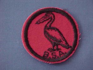 PELICAN, FELT, BLACK BACK THREADS
