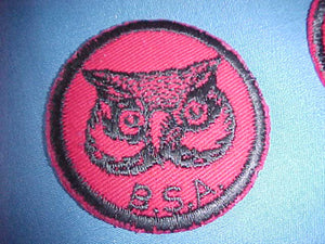 OWL, TWILL, RUBBER BACK