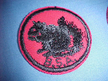 SQUIRREL, TWILL, RUBBER BACK