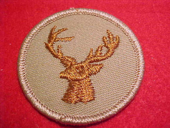 STAG, TAN TWILL, LIGHT BROWN STAG