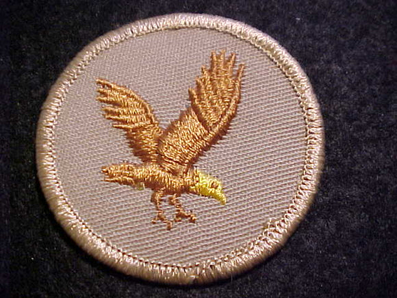 FLYING EAGLE, TAN TWILL, YELLOW HEAD