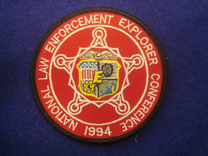 BSA 1994 National Law Enforcement Explorer Conference