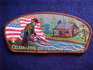 NORTHEAST GEORGIA S4, CELEBRATING 100 YEARS OF SCOUTING
