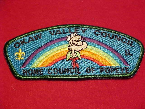 OKAW VALLEY C., HOME COUNCIL OF POPEYE, LAVENDER ARC