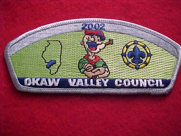 OKAW VALLEY, 2002, (POPEYE)