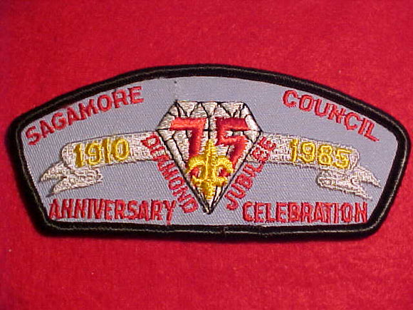 SAGAMORE C. TU-A, DIAMOND JUBILEE, 75TH ANNIVERSARY CELEBRATION
