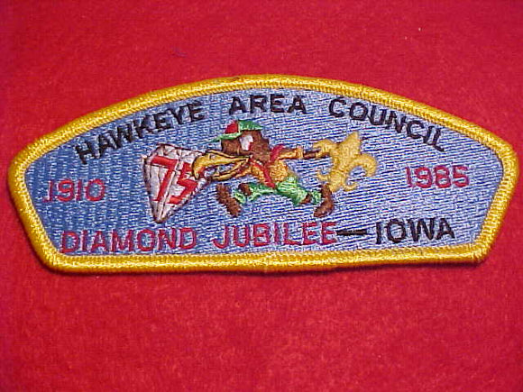 HAWKEYE AREA C. S-5, IOWA, DIAMOND JUBILEE