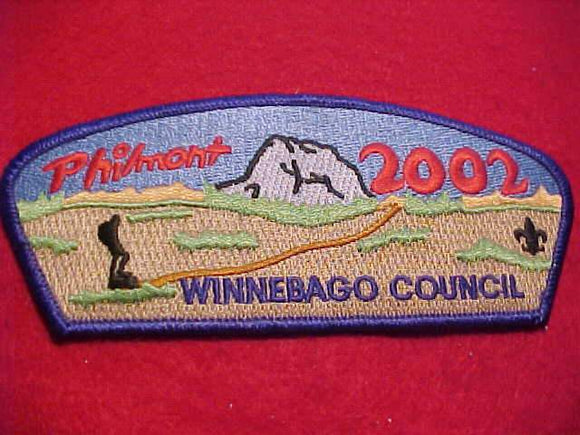 WINNEBAGO C. SA-14, PHILMONT 2002
