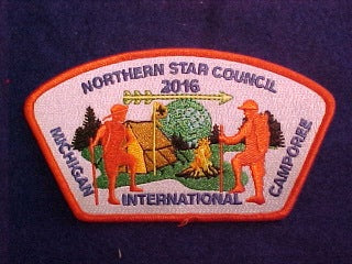 2016 MICHIGAN INTERNATIONAL CAMPOREE, 250 NORTHERN STAR COUNCIL, SA