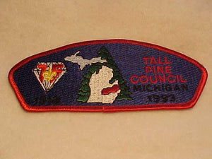 TALL PINE C. S-5, 1918-1993, MICHIGAN
