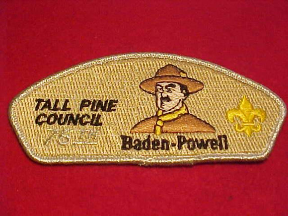 TALL PINE C. SA-7, BADEN-POWELL DISTRICT, 75TH ANNIV.