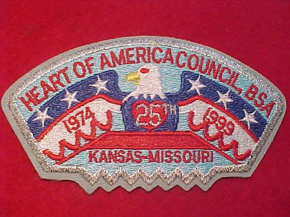 HEART OF AMERICA C. S-5, 25TH ANNIV., 1974-1999